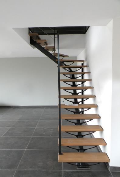 Escaliers atelier des metaux - Escalier bois 4 marches ...